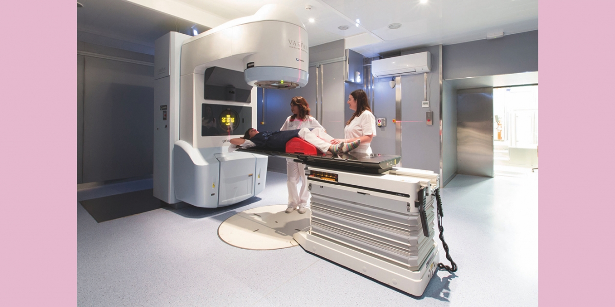 Detalles sobre la radiación para el tratamiento del cáncer de próstata.